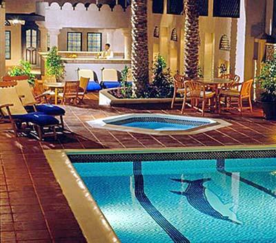 All world visits dubai hotel rooms for Pool and spa show dubai