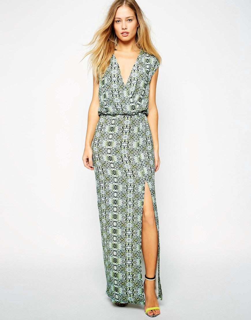 supertrash pattern maxi dress