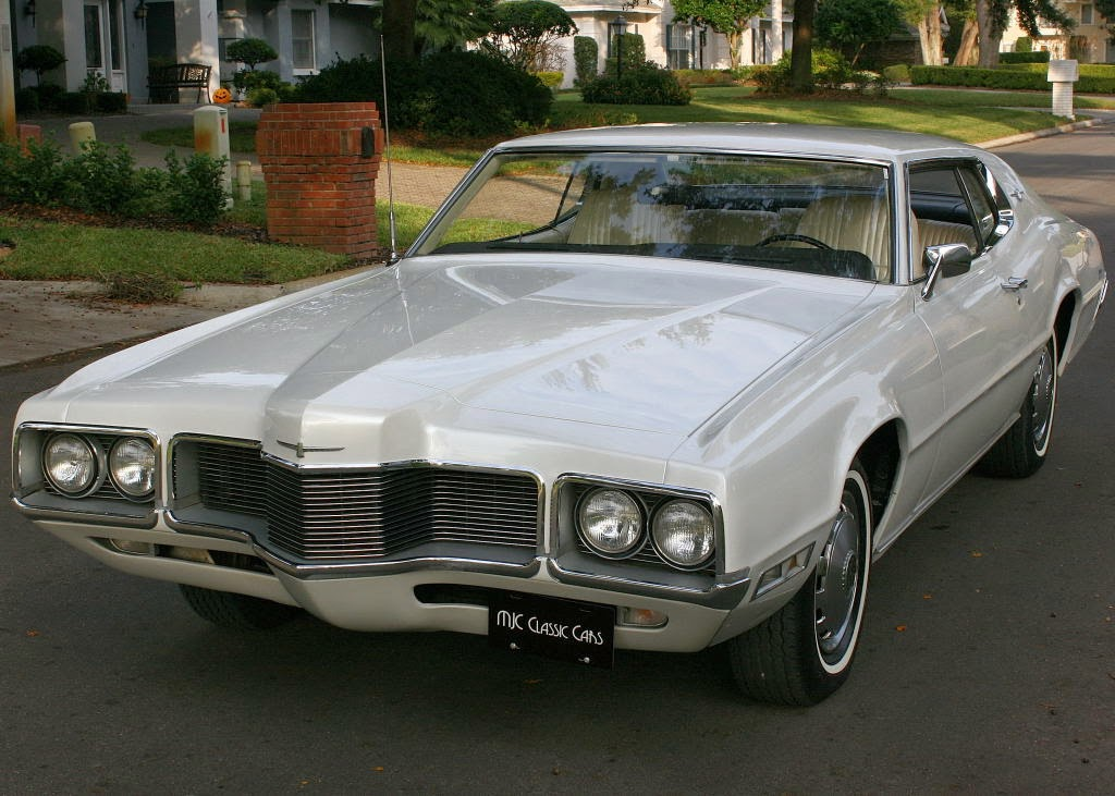 All american classic cars 1970 ford thunderbird 2 door for Door 2 door cars