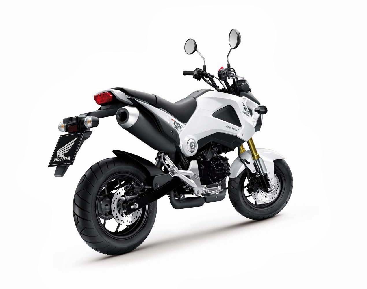All motorbikes nz 2013 honda grom 125 for Honda grom mpg