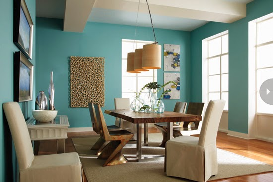 Current Paint Colors Alluring With Modern Furniture: 2014 Interior Paint Color Trends Photo