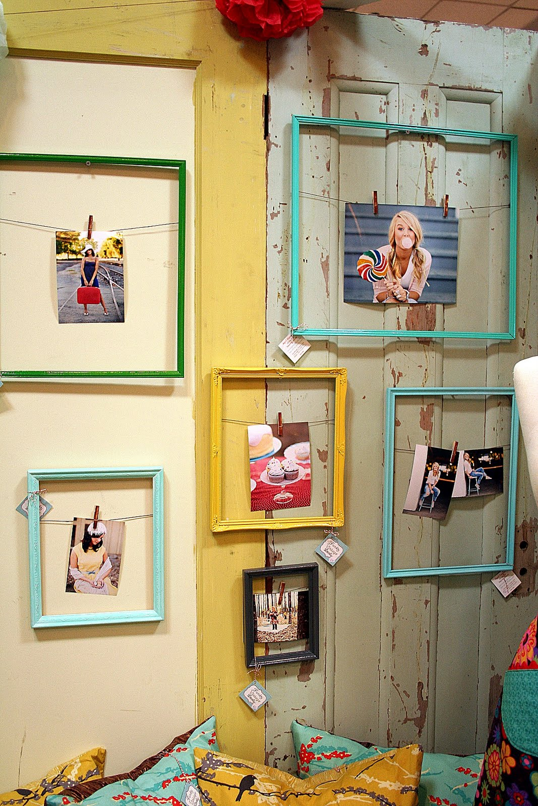 Unique photo display ideas lovely etc for Cool picture frame designs