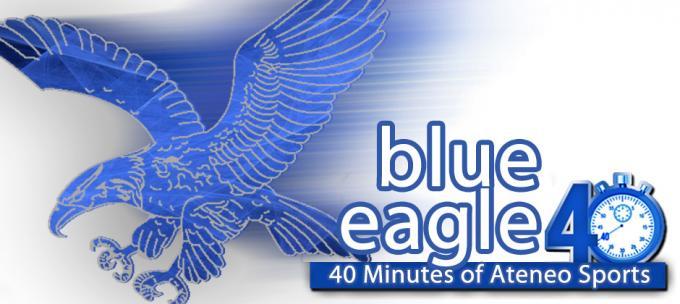 admu blue eagle logo