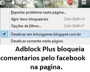adblock plus blocks facebook comments