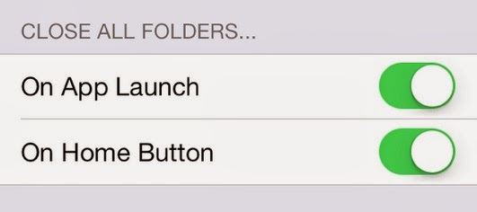 One of the most used Cydia tweaks, is updated for iOS 7; FolderEnhancer. This tweak gives you the ability to add unlimited number of apps, folders etc