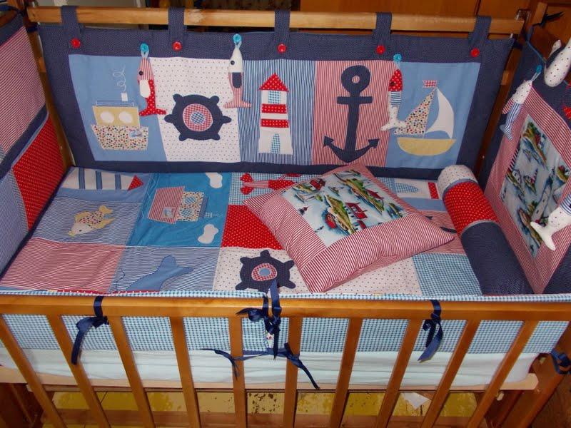 Бортики в кроватку своими руками для мальчика