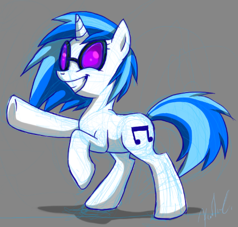 Vinyl Scratch is awesome even though she only had about 5 seconds of screen time