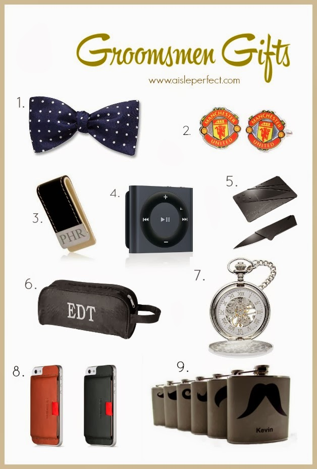 Wedding Gift Groomsmen Suggestions : Pretty Perfect Groomsmen Gift IdeasAisle Perfect