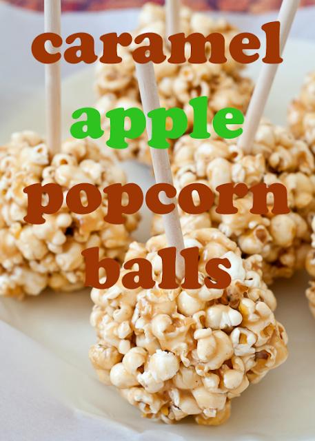 Caramel Apple Popcorn Balls on Todaysmama.com