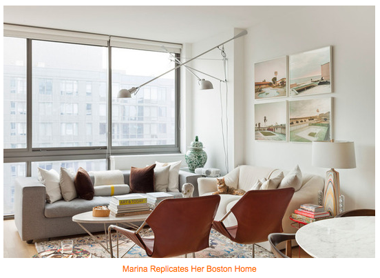 White Gold Best Living Rooms Of 2012 Apartment Therapy