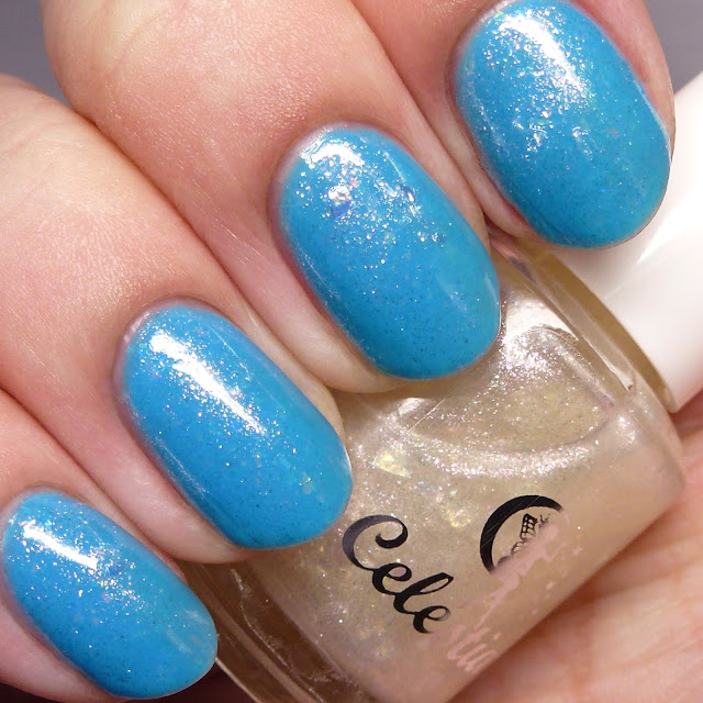 Celestial Cosmetics LE October 2015 over Weave a Spell