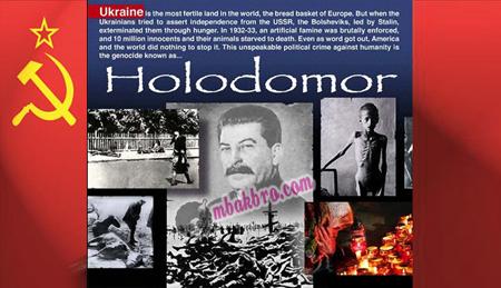 Stalin dan korban Holodomor