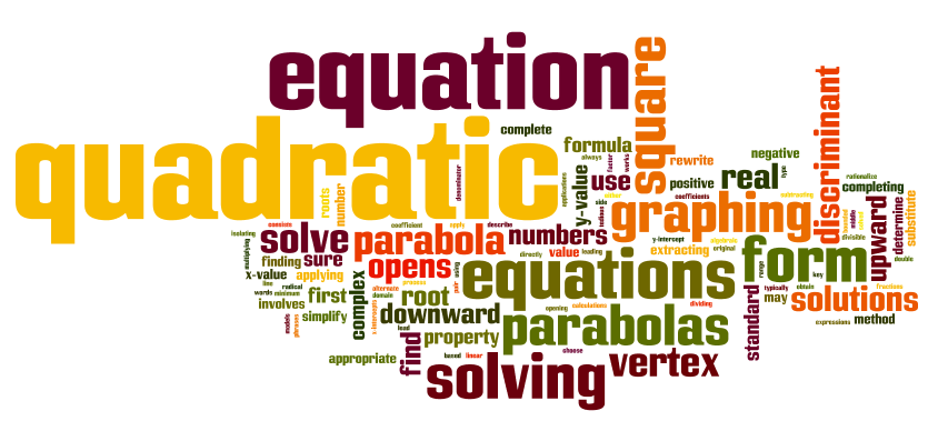 Elementary algebra ch 9 solving quadratic equations and graphing