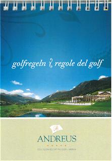 Golfregen / regole del golf