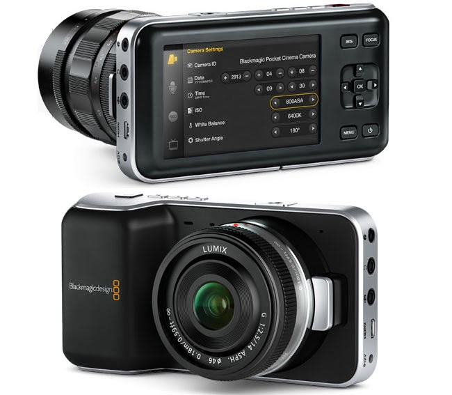 Blackmagic Pocket Cinema Camera now 50% Off