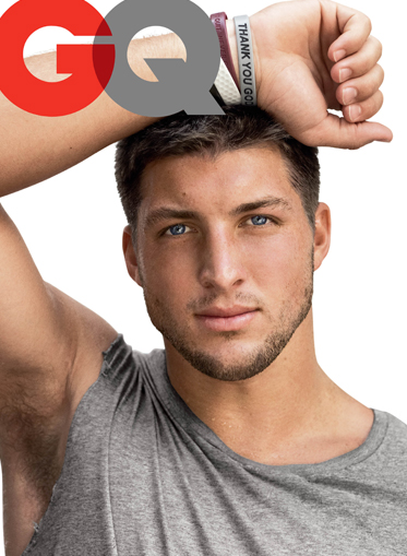 Tim Tebow's Hairy Armpits