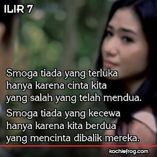 DP Cinta Terlarang Lirik Ilir 7