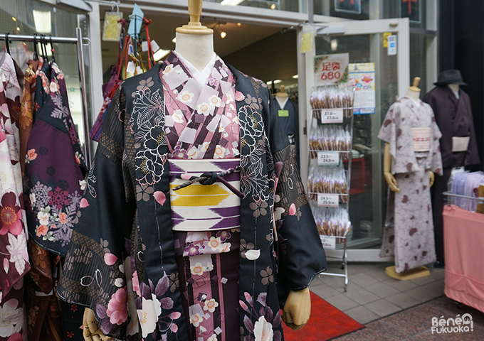 Kawabata shôtengai, Fukuoka