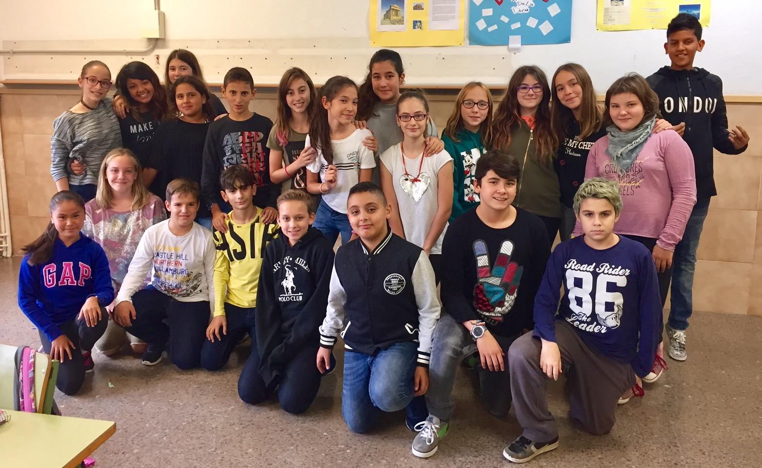 Le groupe de 1r ESO