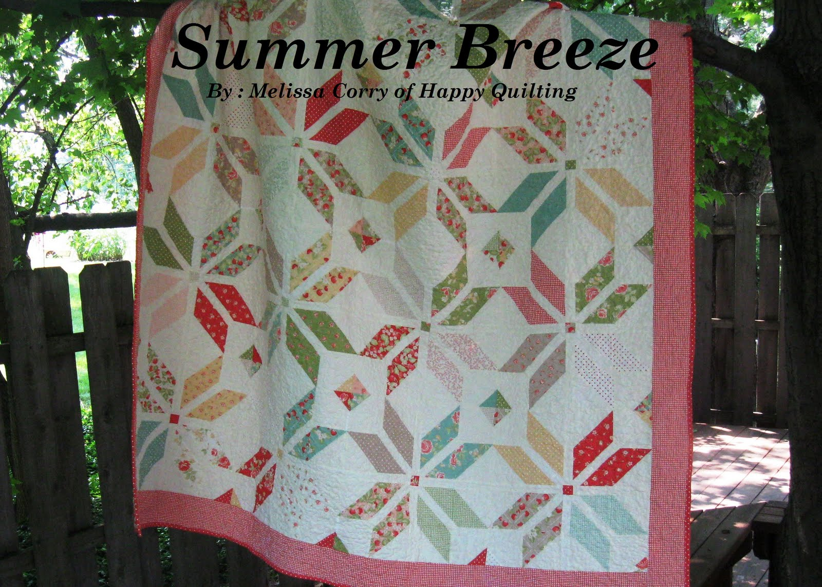 Happy Quilting Summer Breeze My First Pattern