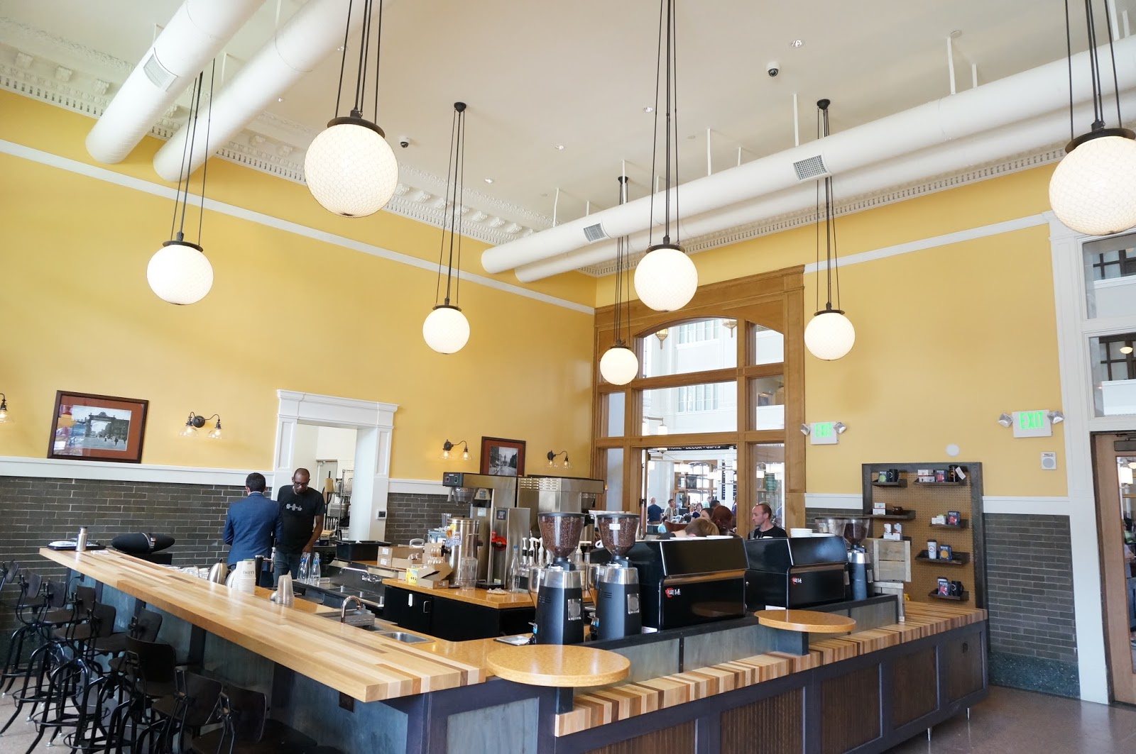 Pigtrain Coffee at Union Station in Denver
