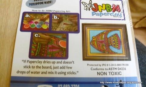 TH: JNBM Paper Clay Art
