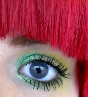 Duo green eyeshadow KatSick