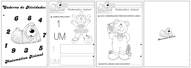 Caderno de Atividades Matemática Animal