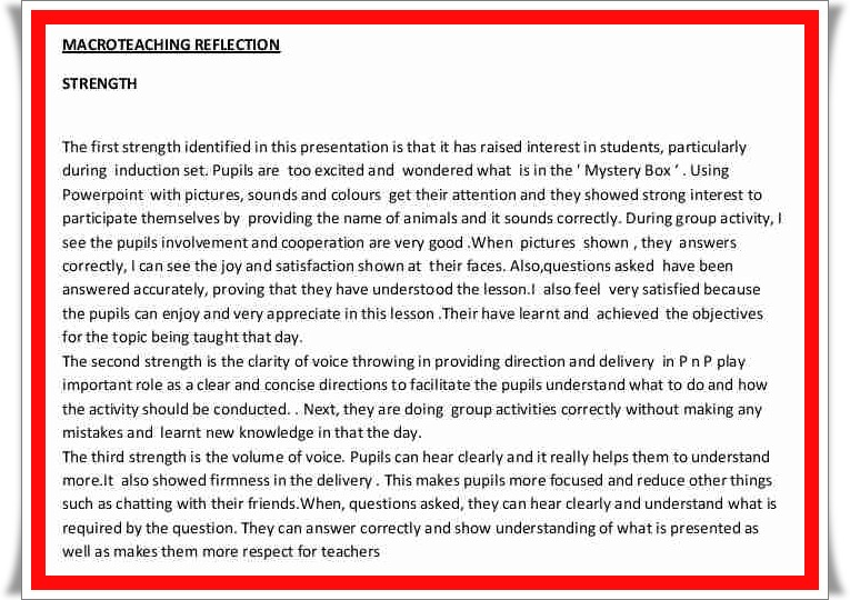 reflection on english learning I will also reflect on how i can relay or apply what i learn into my callings  -of-my -personal-learning-style-english-language-essayphpvref=1.