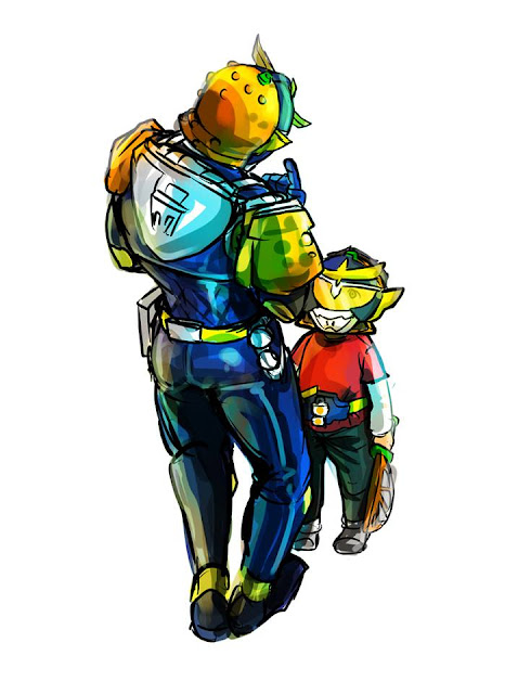 Gambar, Ilustrasi, Kamen Rider, Ksatria Baja Hitam,  Masa Kecil, Kamen Rider Gaimu