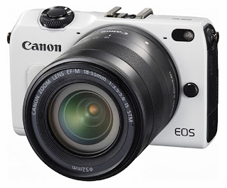 New Canon EOS M2, new digital camer in 2014, camera for holiday, Canon USA, Canon Japan, APS-C 18 MP