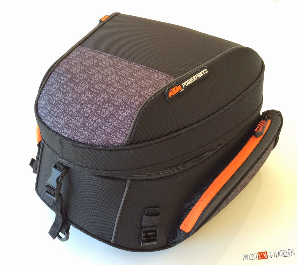 KTM powerparts large rear bag