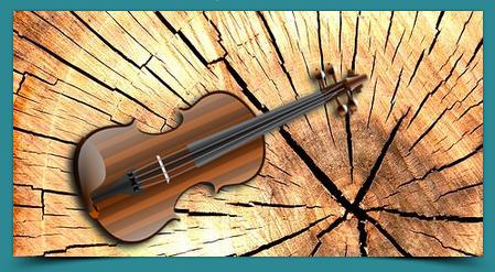 Maderas que son violines
