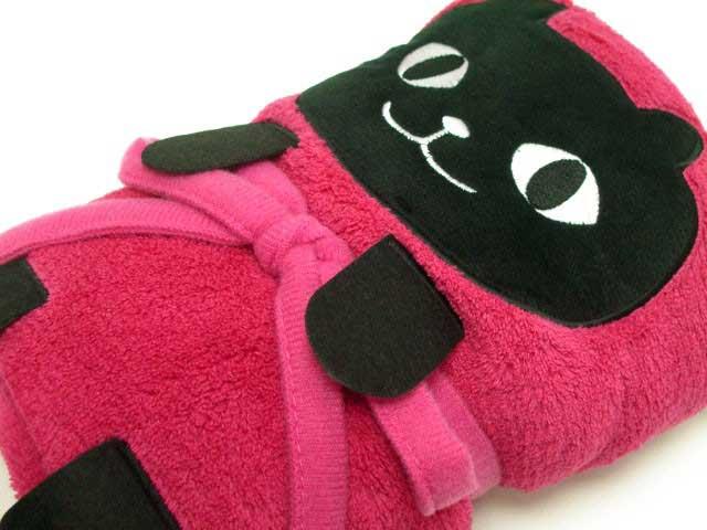 捲捲貓咪毯子 穿柔道服?