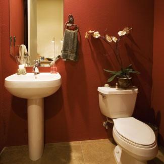 deco couleur petite salle de bain
