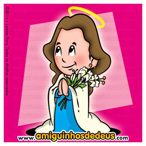 santa maria goretti desenho