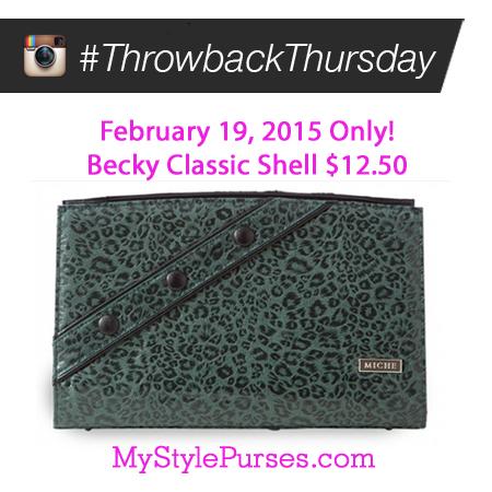 Miche Throwback Thursday February 19, 2015 - Shop MyStylePurses.com