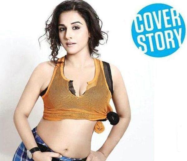Bollywood Actress vidya Balan Navel Show Photos