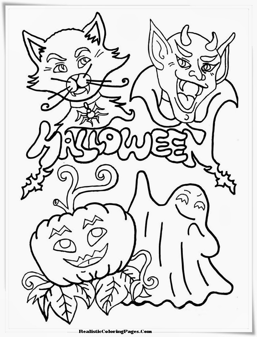 halloween monster coloring pages printable sketch coloring