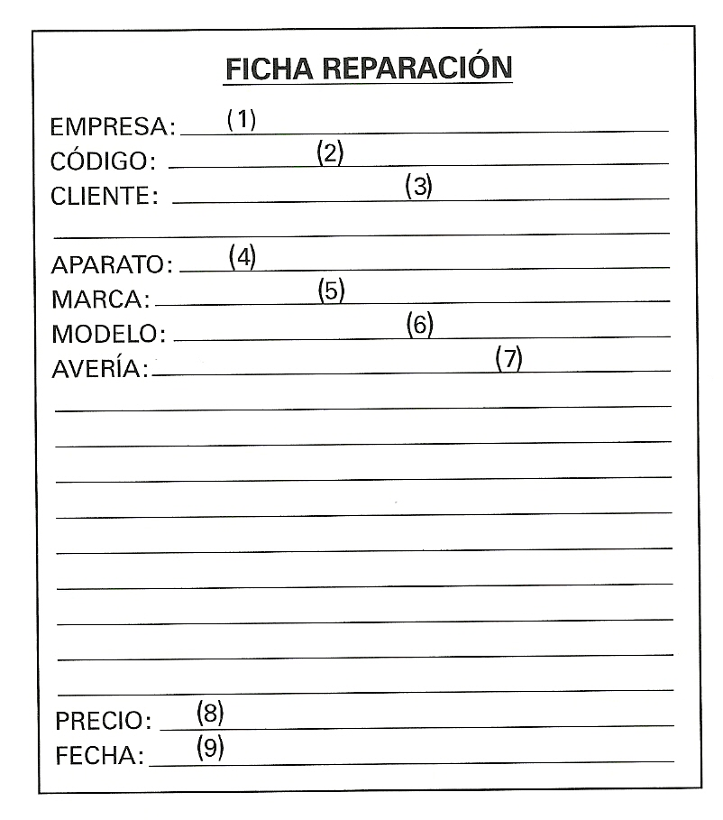 Reparación sistemática de averías en los equipos electrónicos: 6 ...