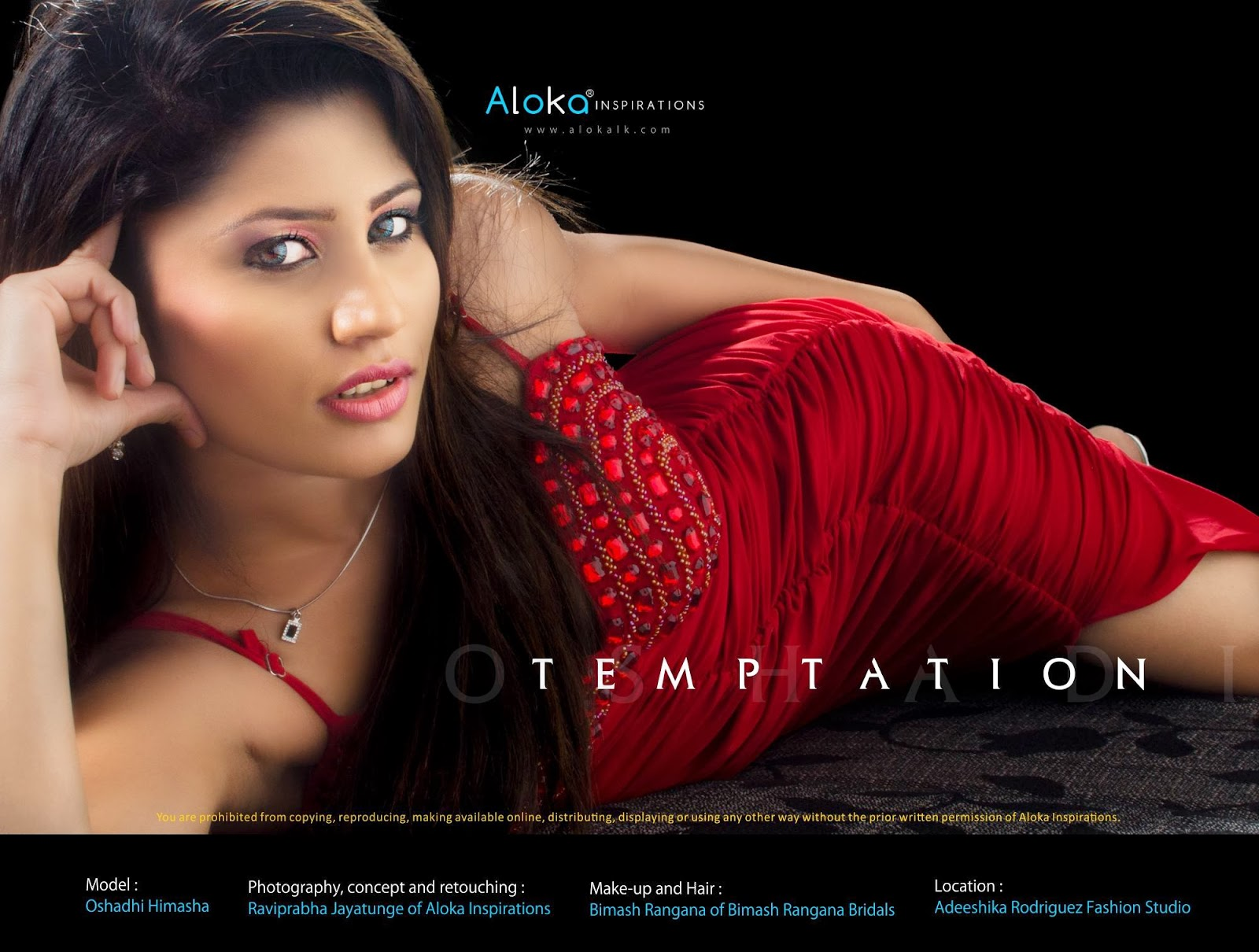 Nimantha Gunawardane of Aloka Inspirations and Adeeshika Rodriguez