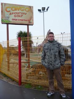 The Congo Adventure Golf course at Brean Leisure Park