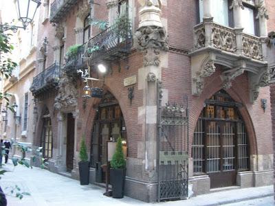 Els Quatre Gats restaurant in Barcelona