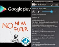Descarrega't la APP per Android i escolta'ns en directe i podcast