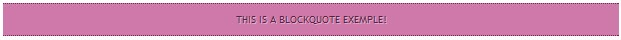 blockquote personalizado