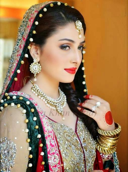 Style2klik.blogspot: Aiza Khan Wedding Pictures Collection