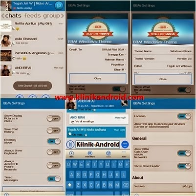 BBM Windows Phone V2.0