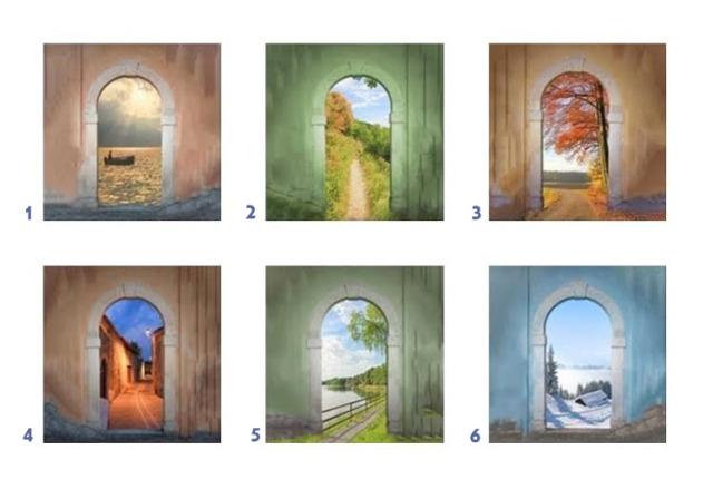 Pintu yang Anda Pilih Mencerminkan Karakter Diri
