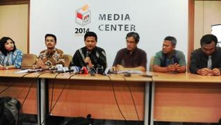 konferensi pers KPU RI tetengan Pendaftaran Partai Politik