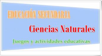 Ciencias Naturales de Secundaria
